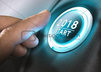 2018 Start, Two Thousand Eighteen.