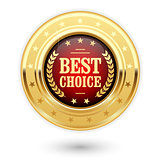 Best choice - golden insignia (medal)