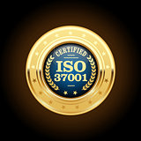 ISO 37001 - Anti-bribery management systems medal