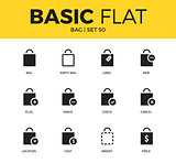 Basic set of Bag icons