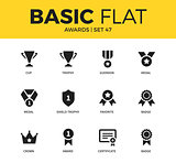 Basic set of Awards icons