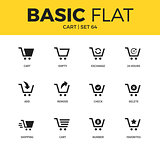 Basic set of cart icons