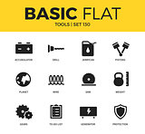 Basic set of Tools icons