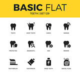 Basic set of Teeth icons