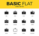 Basic set of case icons