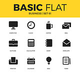 Basic set of Business icons