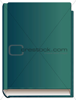 Closed book hardcover front cover