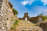 Orthodox chapel in the Venetian castle of Agia Maura - Greek island of Lefkada