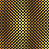 Golden black metallic diagonal grid background.