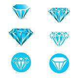 Diamond Logo Set