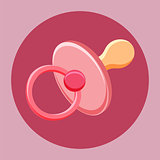 Baby nipple icon.