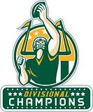 American Football Division Champions Retro