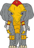 War Elephant Drawing