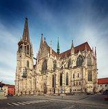 St Peter Cathedral, Regensburg, Bavaria, Germany