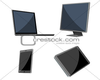 Four devices set