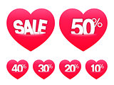 Valentines Day Sale Stickers