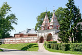 Holy gates of the Monastery of the Deposition of the Robe, Russia, Suzdal