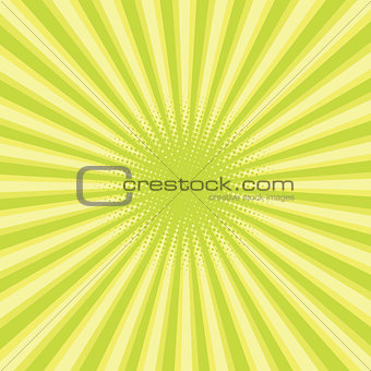 green colored back pop art style background