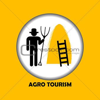 Agro tourism icon