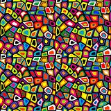 Colorful mosaic seamless