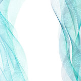 Abstract background, blue transparent waved line brochures, website, flyer design. smoke wave.