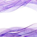 Abstract background, purple transparent waved line brochures, website, flyer design. smoke wave.