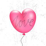 Valentine`s balloon