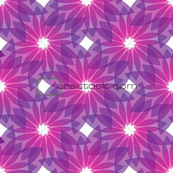 violet flowers seamless