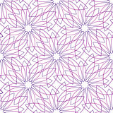 violet flowers seamless