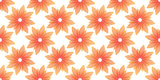 orange flowers seamless