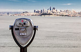 San Francisco Panorama and the Binocular