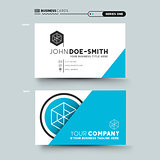 clean and minimal business card design