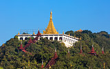 Sandamuni Pagoda temple Mandalay city Myanmar