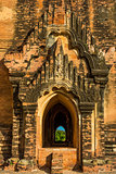 architecture details  Bagan Myanmar