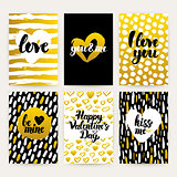 Valentines Day Trendy Brochures