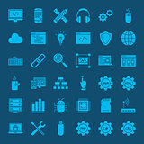 Coding Glyphs Website Icons