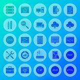 Coding Solid Circle Icons