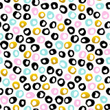 Hand Drawn Dots Seamless Pattern