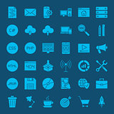 Programming Glyphs Website Icons