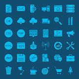 Programming Glyphs Website Icons