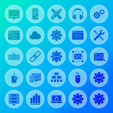Programming Solid Circle Icons