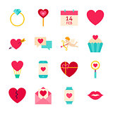 Valentines Day Love Objects
