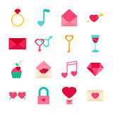Valentines Day Objects