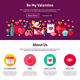 Web Design Be My Valentine