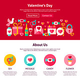 Web Design Valentine Day