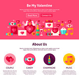 Website Design Be My Valentine