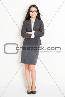 Portrait of female Asian business people