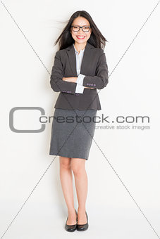 Portrait of female Asian businesspeople