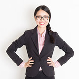 Asian businesspeople portrait