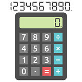 Basic calculator and digits